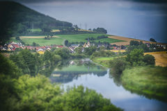 Village in the Black Forest region of Germany Royalty Free Stock Image