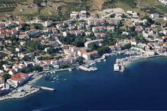 Village Bol on Brac island in Croatia Royalty Free Stock Image