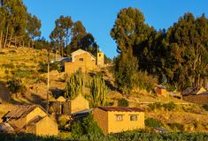 Village in Bolivia Royalty Free Stock Images