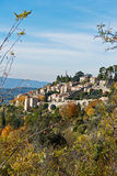 Village Bonnieux in Provence Royalty Free Stock Photo