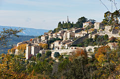 Village Bonnieux in Provence Royalty Free Stock Image