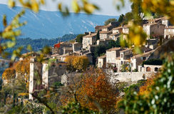 Village Bonnieux in Provence Royalty Free Stock Images