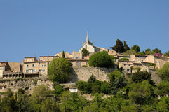 Village of Bonnieux in Provence Royalty Free Stock Photography