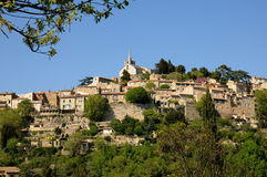 Village of Bonnieux in Provence Royalty Free Stock Photos
