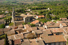 Village of Bonnieux in Provence Royalty Free Stock Images