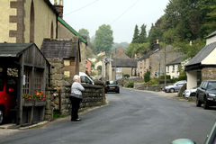 The village of Bonsall, Derbyshire. Stock Photo