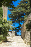 Village of Boonieux in the Provence France Royalty Free Stock Photography