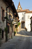 Village of Bossolasco, Langhe, South Piemonte, Italy Stock Photos