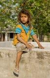 A village boy posing Stock Photo