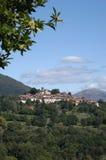 The village of Breno on Malcantone valley Royalty Free Stock Photos