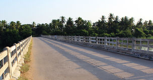 An village bridge Royalty Free Stock Images