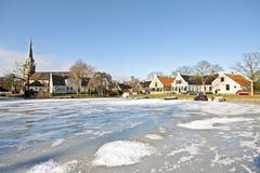 Village Broek in Waterland in the Netherlands Stock Images