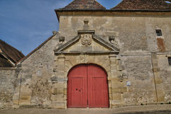Village of Brueil en Vexin in Les Yvelines Royalty Free Stock Photography