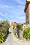 The village of Buelna Royalty Free Stock Photos