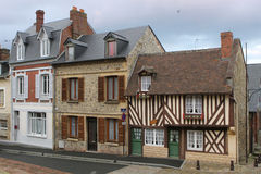 Village Buildings in Normandy France Europe Royalty Free Stock Photo