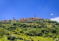 Free Village Buje In Istria, Croatia Stock Photography - 136860132