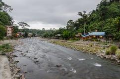 The village of Bukit Lawang in Sumatra, Indonesia Stock Photo