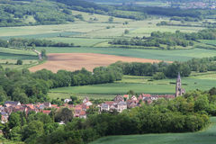 A village of Burgundy Stock Photography