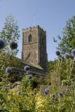 Village of Burstwick church. Stock Photography