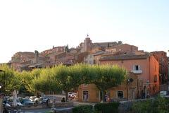 Village célèbre de la Provence photo libre de droits