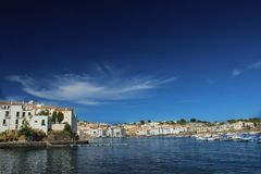Village of Cadaqués Stock Photography