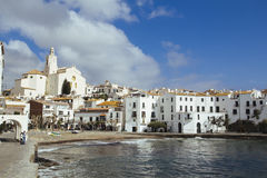 Village of Cadaques, Catalonia, Spain Stock Images
