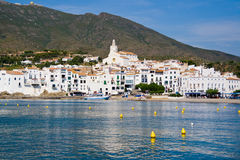 The Village of Cadaques in Costa Brava Stock Photography