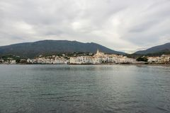 The village of Cadaques on the Costa Brava. Girona Stock Photo