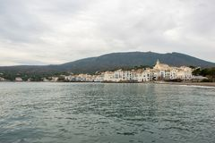 The village of Cadaques on the Costa Brava. Girona Royalty Free Stock Photos