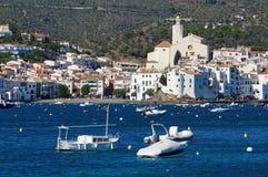 Village of Cadaques Spain Mediterranean sea coast Royalty Free Stock Image