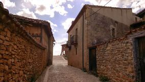 In the village of Calatanazor in Soria Royalty Free Stock Photography
