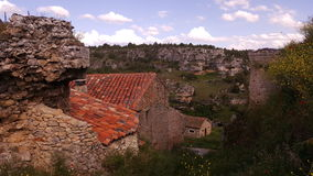 In the village of Calatanazor in Soria Royalty Free Stock Images