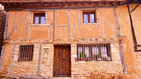 In the village of Calatanazor in Soria. Spain Royalty Free Stock Photo