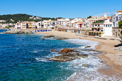 The village of Calella Stock Image