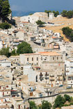 Village of caltabellotta Stock Photography