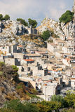 Village of caltabellotta Royalty Free Stock Photo