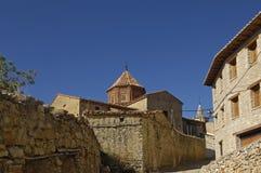 Village of Cantavieja, Maestrazgo, Teruel province, Spain Stock Photos