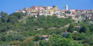 Village of Capoliveri,Elba Island,Tuscany,Italy Royalty Free Stock Images