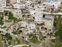 Village in Cappadocia, Turkey Royalty Free Stock Photos
