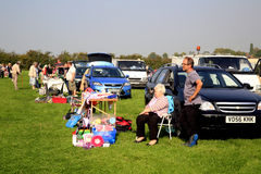 Village Car Boot Sale. Royalty Free Stock Photos