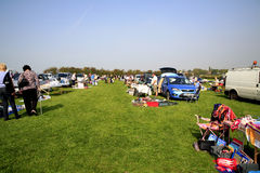 Village Car Boot sale. Royalty Free Stock Image