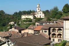 The village of Carabbia near Lugano Royalty Free Stock Photo