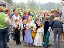 Village Carnival, Ashover, Derbyshire. Stock Images