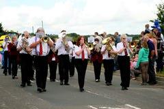Village Carnival Parade. Royalty Free Stock Photos
