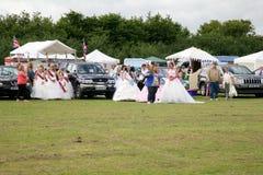 Village carnival Queen Parade Stock Photo