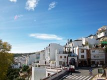Village of Casarabonela-Andalusia-Spain-Europe Royalty Free Stock Images