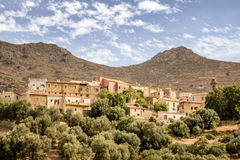 Village of Cassano in the Balagne region of Corsica Stock Images