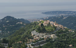 Village Castellar in Provence. Beautiful view of village Castellar in Provence Royalty Free Stock Image