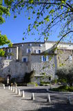 Village of Castellet in France Stock Photo