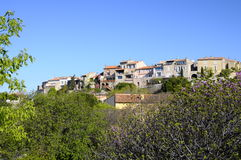Village of Castellet in France Royalty Free Stock Photography
